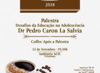 Imagem notícia: Café Terapia 2018